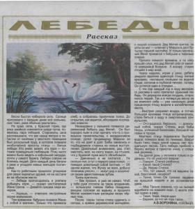 Лебеди Брянские факты 24-30 марта 2016 №12