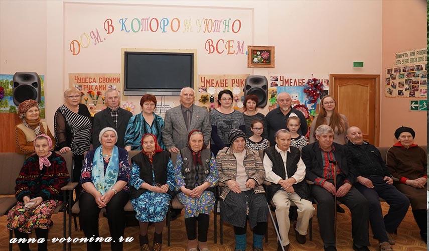 Творческая встреча в Доме милосердия г. Сельцо