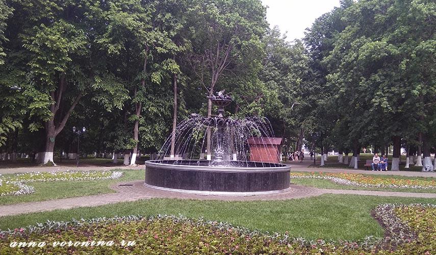 В парке «Липки»