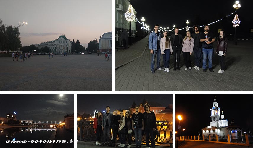 Вечерняя прогулка по Орлу